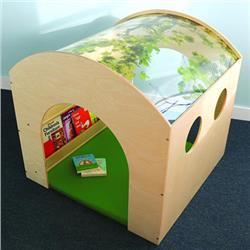 Whitney Bros. Nature View Reading Haven with Floor Mat Set