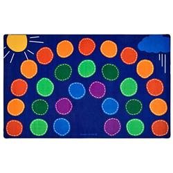 Carpets for Kids Rainbow Seating Rugs