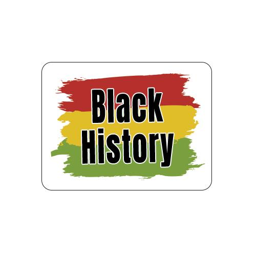 Brodart Black History Classification Symbol Labels (250)