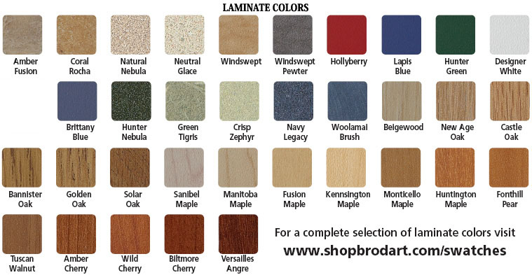 Brodart Laminate Color
