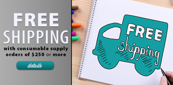 Save with Free Shipping with Supply Orders of $250 or More!  Some Exclusions apply. Offer Ends 09/24/2017