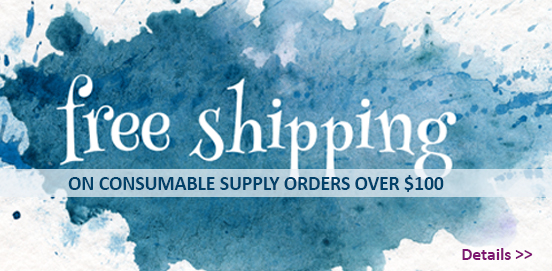 Save with Free Shipping with Supply Orders of $100 or More!  Some Exclusions apply. Offer Ends 1/27/2019