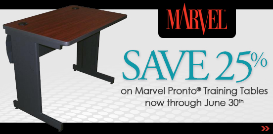 Save on Marvel Pronto Training Tables through June