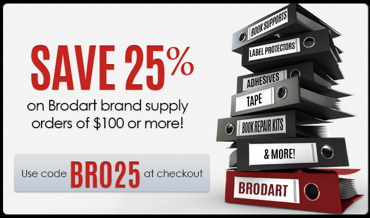 Brodart Brand Supplies Sale!