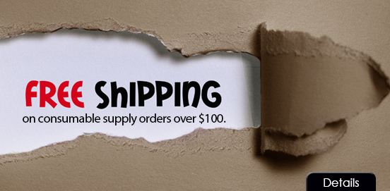 Save with Free Shipping with Supply Orders of $100 or More!  Some Exclusions apply. Offer Ends 9/23/2020