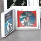 Image of Small Single Jewel Case Storage Album with Literature Well and Open Spine