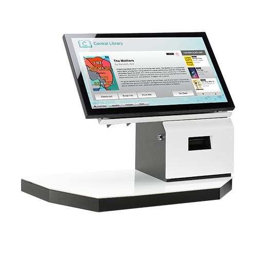 Image result for bibliotheca self checkout