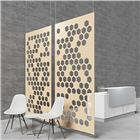 Image of Hush Acoustics Hive Acoustic Hanging Divider Panel